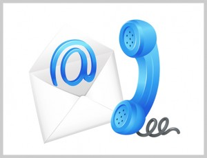 Email/telephone